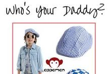 Who's Your Daddy? / Father's Day is coming up! Dazzle dear old dad with these fun daddy's day ideas, gifts and activities. Make this Father's Day rock.  / by Appaman