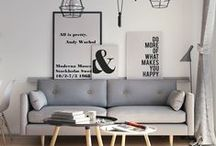 Scandinavian Design / Explore different cultures via your decor. Try something new and design with Scandinavian flair.