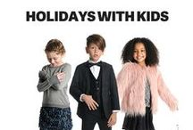 Holidays with the Kids / From Halloween to Hanukkah, holidays are best celebrated with family. We're on a mission to find the best holiday party ideas, holiday recipes and cool holiday crafts. Watch this space for holiday fun!  / by Appaman