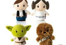 #ittybittys / Hallmart #ittybittys are so cute! I love them all BUT Chewbacca is my favorite!