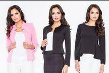 """Women's jackets and blazers / Dámske saká a blejzre / """"Žena by mala byť dve veci, očarujúca a nádherná"""" povedala svojho času geniálna Coco Chanel. Jej pánsky štýl obliekania priniesol ženám pohodu a jedinečnosť. Skúste sa inšpirovať aj tu:-)"""