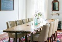 Dining Room Design / Serve up a plate of dining room dreams and entertain like a pro.