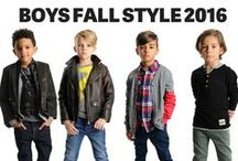 Boys Fall Style 2016 / For boys back to school style, it's all about cool layers, transitional fall jackets, long sleeve tees, stylish hoodies and kids henley shirts.