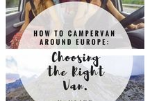Vanlife: Travel the world in a rolling home / Vanlife allows you the freedom to travel in ways like never before. Get inspired by life in a rolling home... through our stories travelling around Europe for 6 months as well as others in the vanlife community!