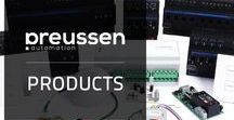 preussen automation Products / The portfolio of preussen automation (sister company of livebau) includes complex products for the KNX standard, as well as easy to use SMART-BUS components for small and medium enterprises (projects, ventures) based on RS485 bus technology.