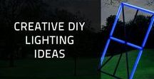 Creative DIY Lighting Ideas / Creating a useful object with your own two hands can be really satisfying, especially if you help protect the environment by using recycled materials. If being creative and making crafty items appeals to you, here are some amazing DIY ideas that will literally brighten your day.