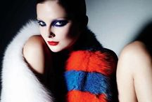 Fur / Fur, fashion photography, fashion illustration