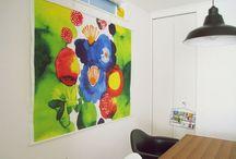 Marimekko for the house / Marimekko wall art. Decoration. Curtains. Shower curtains. Canvas. Prints.