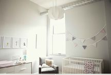 Baby and Nursery Stuff / Decorating the nursery, baby factoids, info graphics, cots, dressers, diaper changing, rockers, pretty pictures, cute decorations.