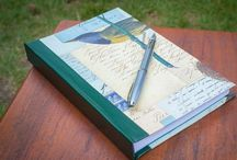 Thirsty Journals / Handcrafted, custom journals with dreamy soft pages inside.