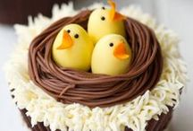 Easter Baking Inspiration / Some lovely ideas for baking to do at and around Easter!