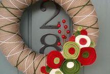 Wreaths. / Рождественские венки. Идеи для воплощения в жизнь.