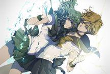 Sailor Uranus & Neptune / Haruka & Michiru