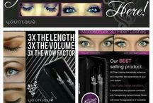Younique by Vicky Pearce / Younique products including the amazing 3D Fibre Mascara