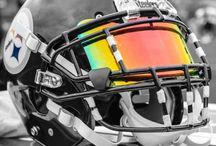 NFL Visors / NFL Players wearing football helmet visors
