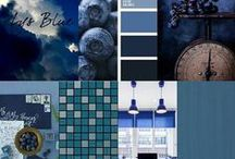 SHADES OF BLUE - Get  Inspired / ✉ Any information please drop in for a visit. Our staff will be able to help you! Tiles Avaiable @ Downtown Tile Centre