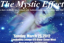 The Mystic Effect / This is my first production that gave the coveted title of Producer and Creative Director. I did this as a one-time-only-event, however the response was so greatly received, I decided to turn it into an annual event. Its a show that skillfully fused together the elements of music, poetry, dance, fashion and film.