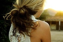 Hair Ideas / by Jerica Gunselman