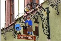 vitrines, enseignes et jolies devantures / devantures chics ou retro, jolies boutiques / by Madeleine Bernard