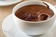 Délicieusement chocolat / mon péché mignon... / by Madeleine Bernard