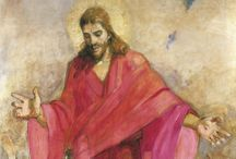 Art of the Bible - Jesus / Images of Jesus from many times and places. / by Christine Way Skinner