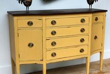 Painted Furniture: Tips and Tricks / by Elizabeth and Julia {Southern Color}