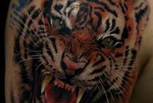 animals / tattoos of animals