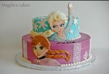 Themes - Disney Frozen / Frozen themed cakes and party ideas