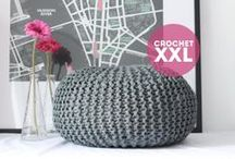 Crochet trapillo XXL