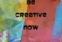 Be Creative Now / Join or follow this board if you are part of the Facebook Group Be Creative. No advertising or self-promotion - play fair!  Join us for weekends of creative fun via the internet - and more. http://galleryforbecreative.wordpress.com/