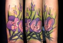Flower Tattoo ideas / flower and floral tattoo ideas