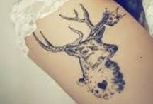 Nature Tattoo Ideas / Nature, forest, animals, crows, mountain tattoos. A shaman's spirit.