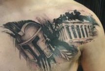 Ancient Greece Tattoo ideas / Ancient greece and ancient greek gods or mythology tattoos