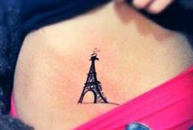 My favourite place tattoos / Favourite Place Tattoo Ideas