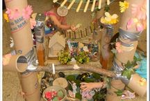 It's a small world / Lots of lovely ideas for small world play.