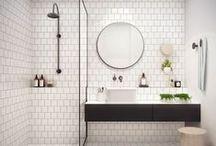 * white bathrooms *
