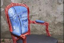 Design in jeans e resina