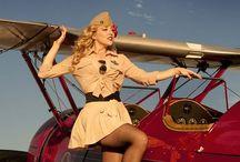 Aircraft - Aircraft and Pin Ups / Sexy girls with aircraft