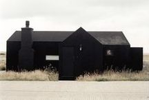 schwarzehousesthatmoveme / Wonderful black houses that are so intriguing I want to move in!  / by . donbrady