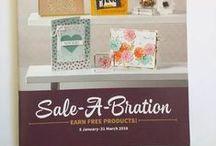 2016 Sale A Bration Stampin' Up! / 2016 Sale A Bration Stampin' Up!