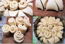 recepty - tvarování těsta/koláče, buchty apod.