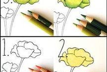 Coloring Tutorial Pins