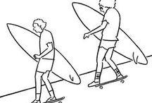 Skate 'n' Surf