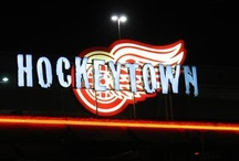 My Sports / I love my Detroit Red Wings and lookin' forward to the new season!  Go Get 'Em Red Wings!!  I like the Tigers too but my Wings come first! / by Diki Burns
