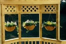 deck and railing ideas / I started this board to look for unique railing ideas for my deck. I think any inside railing can be modified to be used outside. Feel free to pin as many pins as you like! / by Deanna Rockhold