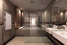 Bathroom Ideas / Whether it's a simple update to the vanity or a complete gut, there is always more you can do with a bathroom remodel. Add your bathroom ideas and designs! / by ImproveNet