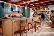 Kitchen Ideas / The kitchen is one of the most used rooms in any household. It is where you spend time with family. It is where you get away and lost in your cooking. It can be your room away from home. As a result, it is one of the most remodeled rooms in all household. After viewing some of our pins, we hope you feel inspired to start a DIY project and create that dream kitchen you always wanted.