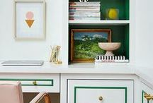 Meredith's Decor Loves / dramatic, cute, colorful, functional, and a touch wild