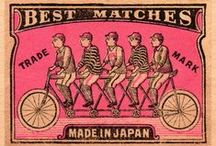 Vintage (Matchbox Art) / Matchbox Label Art • Pinterest.com/ScottMonaco • More at: QuietYell.com
