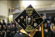 We Love Graduations! / Our graduation board is to share pins of our Hocking College Graduates, graduation quotes, success, caps, videos and more! / by Hocking College